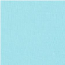 "Kona Cotton 44"" Fabric- Blues- Aqua"