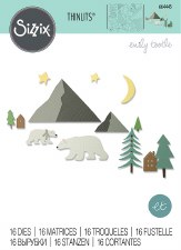 Sizzix Thinlits Dies- Artic Bear