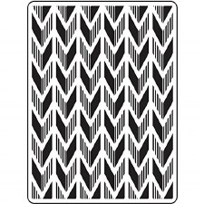 Darice Embossing Folder- Background- Arrow