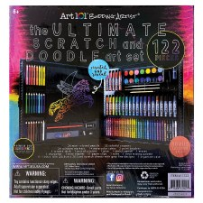 The Ultimate Scratch & Doodle Art Set, 122pc