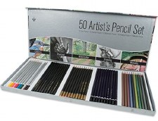 Artist Color Pencil Set- 50 pieces