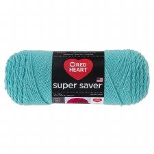 Red Heart Super Saver Yarn- Aruba Sea