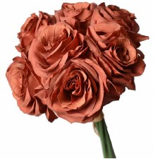 Ashley Rose Wedding Bouquet- Cinnamon