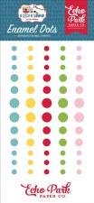 A Slice of Summer Enamel Dots
