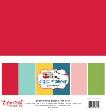 A Slice of Summer Solids Paper Kit