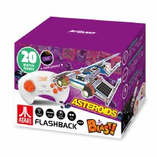 Flashback Blast! Retro Gaming- Atari Asteroids, 20 Games