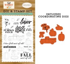 Fall Market Stamp & Die Combo Set