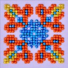 Diamond Facet Art Starter Kit- Autumn Mandala 2