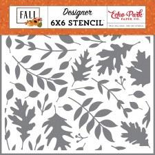 Fall 6x6 Stencil- Autumn Time