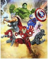 Diamond Facet Art Kit- Marvel: Avengers Assemble