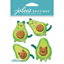 Jolee's Dimensional Stickers- Avo Cat