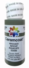 Delta Ceramcoat Acrylic Paint, 2oz- Greens: Avocado