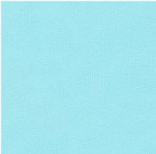 "Kona Cotton 44"" Fabric- Blues- Azure"
