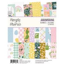 Bunnies + Blooms 6x8 Paper Pad
