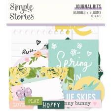 Bunnies + Blooms Die Cuts- Journal Bits