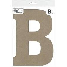 """8"""" Chipboard Letter- B"""