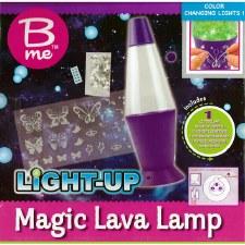 B Me Light Up Magic Lava Lamp