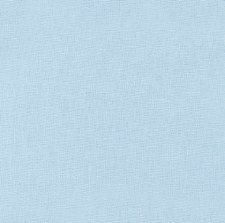 "Kona Cotton 44"" Fabric- Blues- Baby Blue"