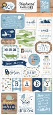 Baby Boy Chipboard Phrases
