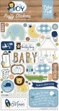 Baby Boy Stickers- Puffy