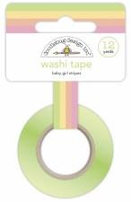 Bundle of Joy Washi Tape - Baby Girl Stripes