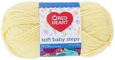 Soft Baby Steps Yarn- Baby Yellow