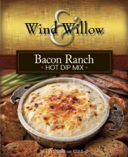 Wind & Willow Hot Dip Mix- Bacon Ranch