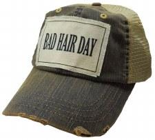 Women's Trucker Baseball Cap- Bad Hair Day
