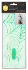 Halloween Favor/Treat Bags- Iridescent Spider, 10ct