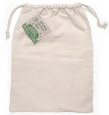 "Plain Cotton Drawstring Bag, 12""x16"""