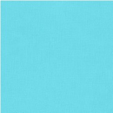 "Kona Cotton 44"" Fabric- Blues- Bahama Blue"