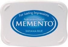Memento Dye Ink Pad- Bahama Blue