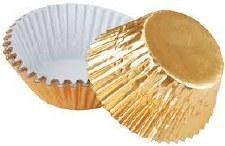 Baking Cups - Gold Foil 24ct.