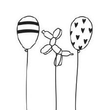 Darice Embossing Folder- Celebrations- Balloons