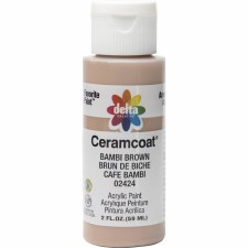 Delta Ceramcoat Acrylic Paint, 2oz- Browns: Bambi Brown
