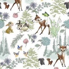 Bambi & Thumper Bolted Fabric- Bambi & Friends
