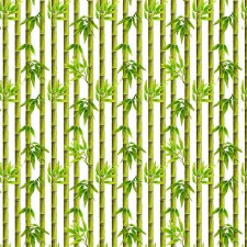 Panda Sanctuary Bolted Fabric- Bamboo