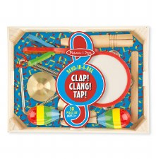 Melissa & Doug Band In A Box- Clap! Cling! Tap!