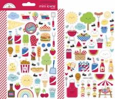 Bar-B-Cute Stickers - Mini Icons