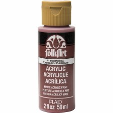 FolkArt 2 Oz. Acrylic Paint- Barnyard Red