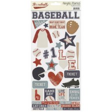 Baseball 6x12 Sticker