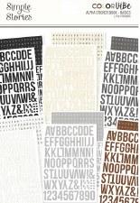 Color Vibe Alphabet Sticker Book- Basics
