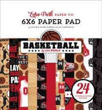 Basketball 6x6 Paper Pad
