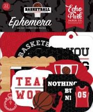 Basketball Ephemera Die Cuts