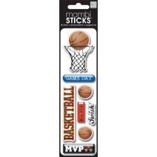 MAMBI Puffy Sticker- Basketball