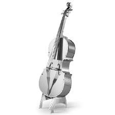 Metal Earth 3D Metal Model Kit- Fiddle, Bass