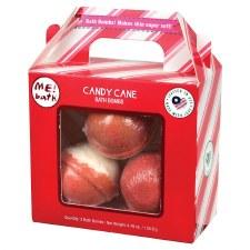 Bath Bomb 3pk- Candy Cane