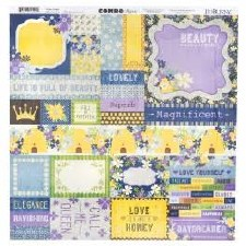 Bee-Utiful 12x12 Combo Sticker Sheet