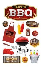 BBQ II 3D Stickers