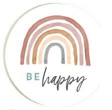 Car Coaster- Be Happy